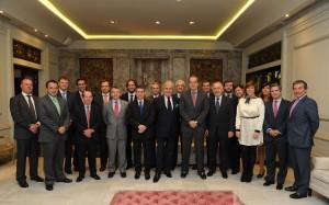 Foto de Grupo de la Asociación empresarial España Colombia
