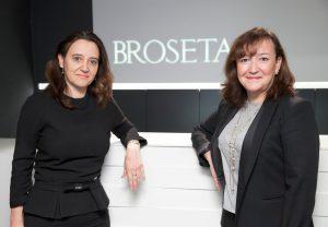 Rosa Vidal, socia directora de BROSETA, y Rosa Sanz, nueva socia de Público_low