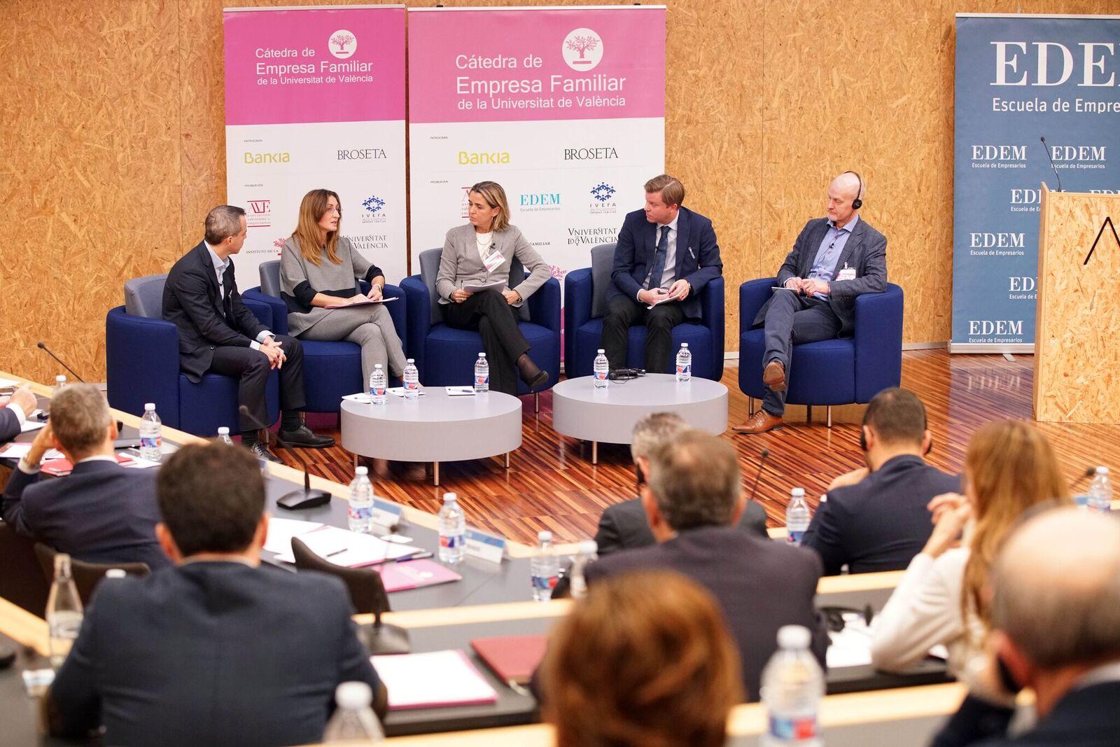 BROSETA participa en el debate sobre la empresa familiar en Europa